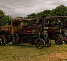 Foden Steam Wagons by David J Knight