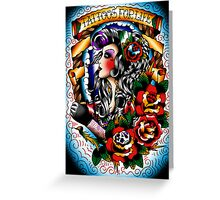 Tattoos for life Greeting Card