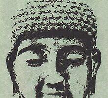 Buddha in Sage Green/Black by Sarah Park