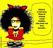 Mafalda (cartoon for the  feminist ...ultras) by anaisanais
