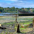 Hulk on the Hamble by Peter D