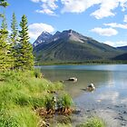 Spray Lakes, Kananaskis by Barrie Daniels