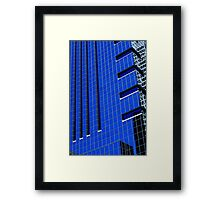 More Philly Blue Framed Print