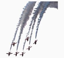 Red Arrows - Smokin! by Gareth Stamp
