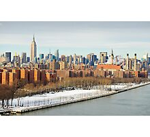 NYC - Lower East Side of Manhattan Photographic Print