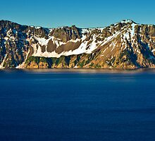 Crater Lake Sunrise by Bob Moore