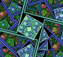 Stained Glass Memories by Bunny Clarke