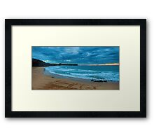 Happy Days - Warriewood Beach, Sydney - The HDR Experience Framed Print