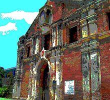 Saint Mary Magdalene Church by Angelo Aguinaldo