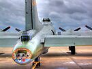 B-17 Flying Fortress G-BEDF Sally B - HDR by Colin J Williams Photography