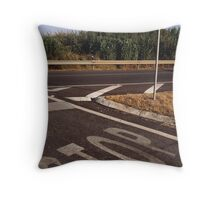 Double Stop Throw Pillow