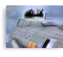 Calm Before the Storm - B -17G Sally-B - HDR Canvas Print