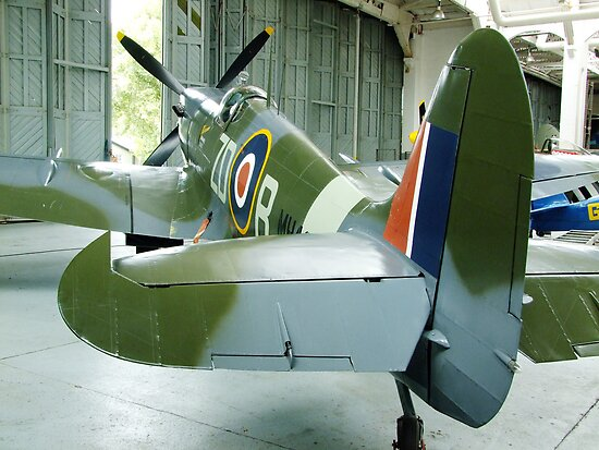 Spitfire Mk IX MH434 - Duxford by Colin J Williams Photography