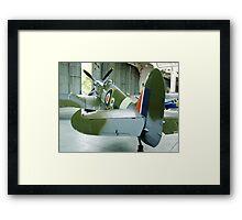 Spitfire Mk IX MH434 - Duxford Framed Print