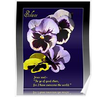 Solace - Bereavement Card Poster