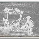Water fight by Russ  Shepherd