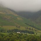 Misty Mountains Lake District  by DIANE  FIFIELD