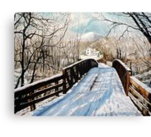 The Christmas Homecoming Canvas Print