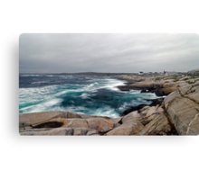 Peggy's Cove, Nova Scotia - Panorama Canvas Print