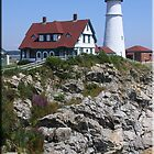Portland Head Light by Leah Snyder