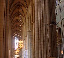 The Cathedral - Uppsala, near Stockholm, Sweden by Mark Richards