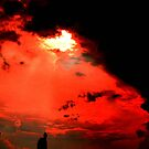 Molten fire.. flies through the sky...Burning high... eclipse of the sun...Blackened skies..In a world polluted inside..is there hope for humanity? by jammingene