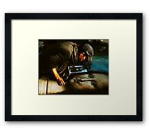 Imitation Framed Print