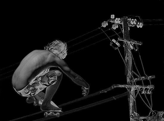 High wire by UncaDeej