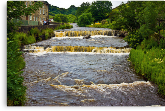 Gayle Mill Force (Gayle Beck) - Hawes by Trevor Kersley