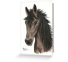 Grey Mare Greeting Card