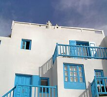 Chora, Mykonos by Christopher Biggs