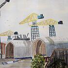 Swan Hunters Yard, Wallsend by GEORGE SANDERSON