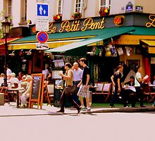 Cafe Culture en Paris by Rusty  Gladdish