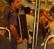 Buskers on the  Metro!!! by Rusty  Gladdish