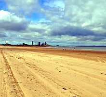 Coatham beach  , redcar  by robwhitehead