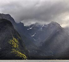 The Grandeur of Milford Sound by Peter Hammer