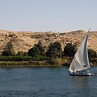 Nile Felucca by JamesTH