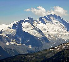 Snow capped peaks by Darren Bailey LRPS