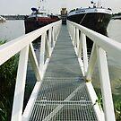 Pier off Haparandadam by Marjolein Katsma