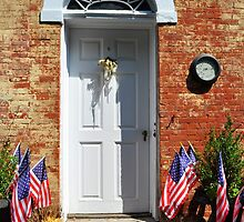 Doors of Wickford Rhode Island  by Shelby  Stalnaker Bortone