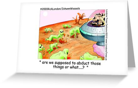 When Cows Ruled Space by Londons Times Cartoons by Rick  London