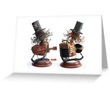 Back Detail of Slash Greeting Card