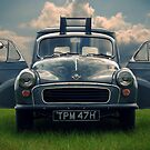 Morris Minor Van II by SHOI Images