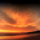 Tynemouth Longsands Sunrise by Alan Watt