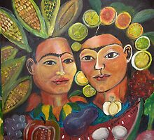 Double Take Sisters by Ruth Olivar Millan by Ruth OLIVAR MILLAN
