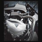Triumph Bonneville by Nigel Bangert