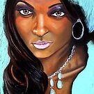 Modern African Beauty by Hosny Soliman