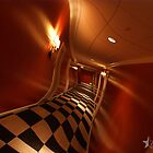 Hotel Hallway at 3am by dotstarstudios