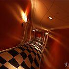 Hotel Hallway at 3am by dotstarstudios