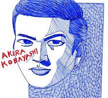Akira Kobayashi by iwantajuicer